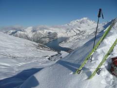 ski,randonnée,neige,pente,plaisir,